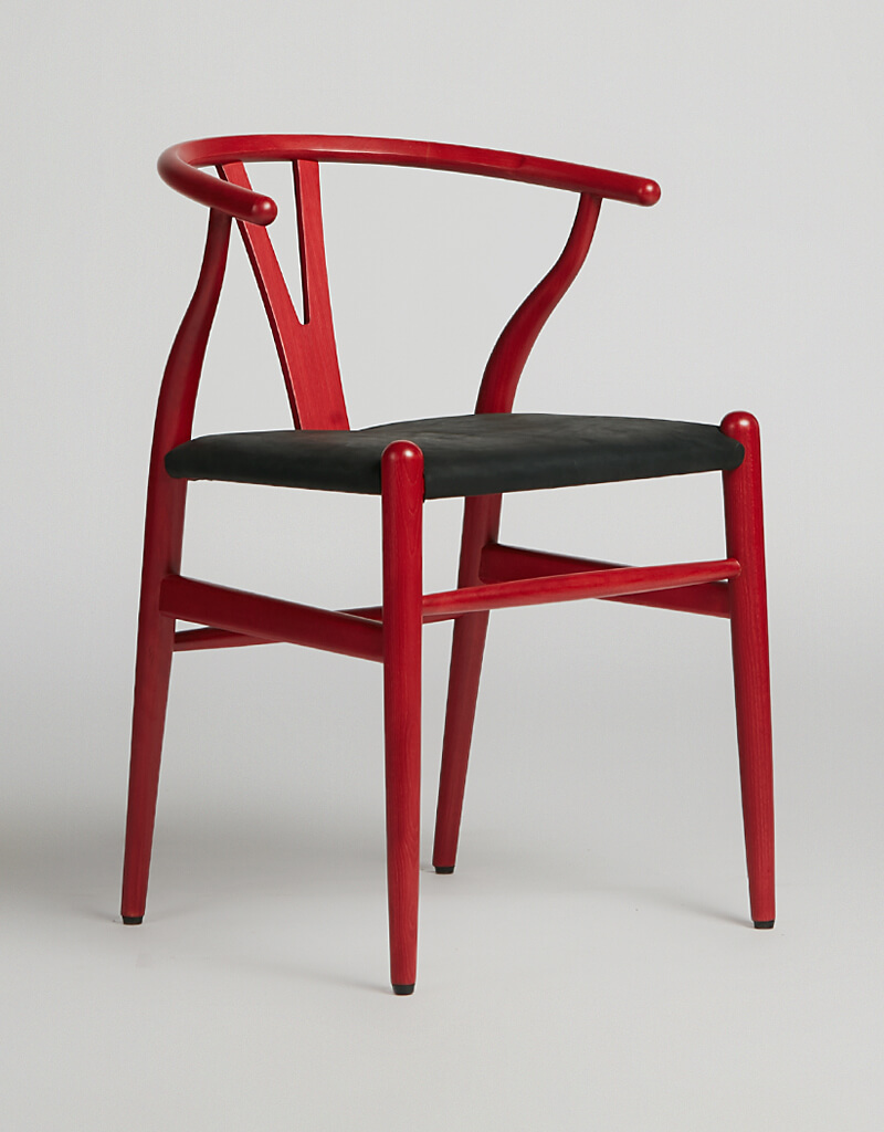 Wish Chair Red Leather