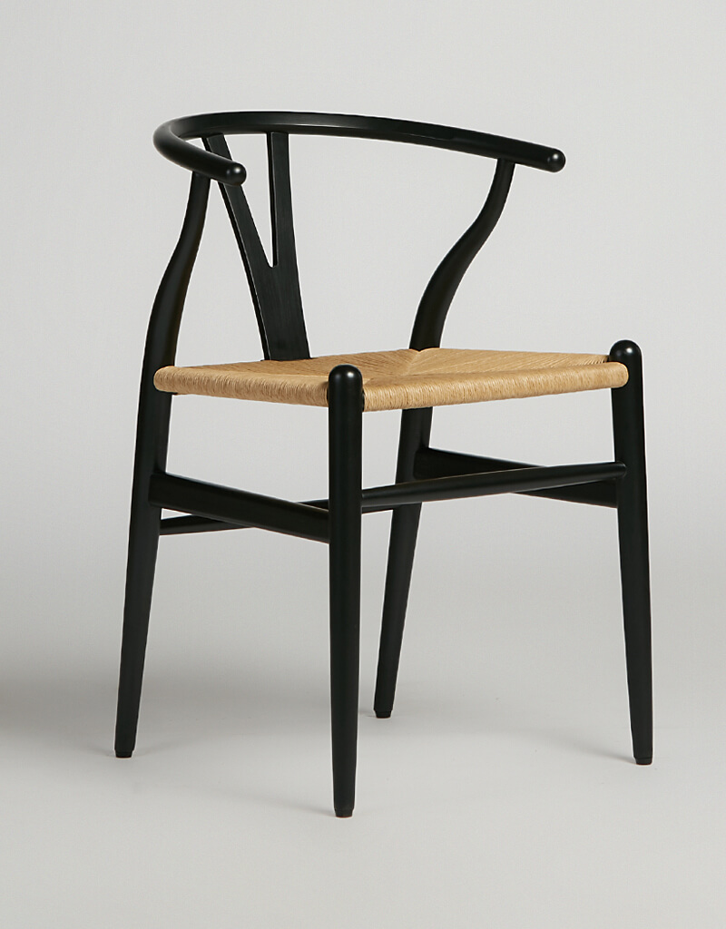 Wish Chair Black Papercord
