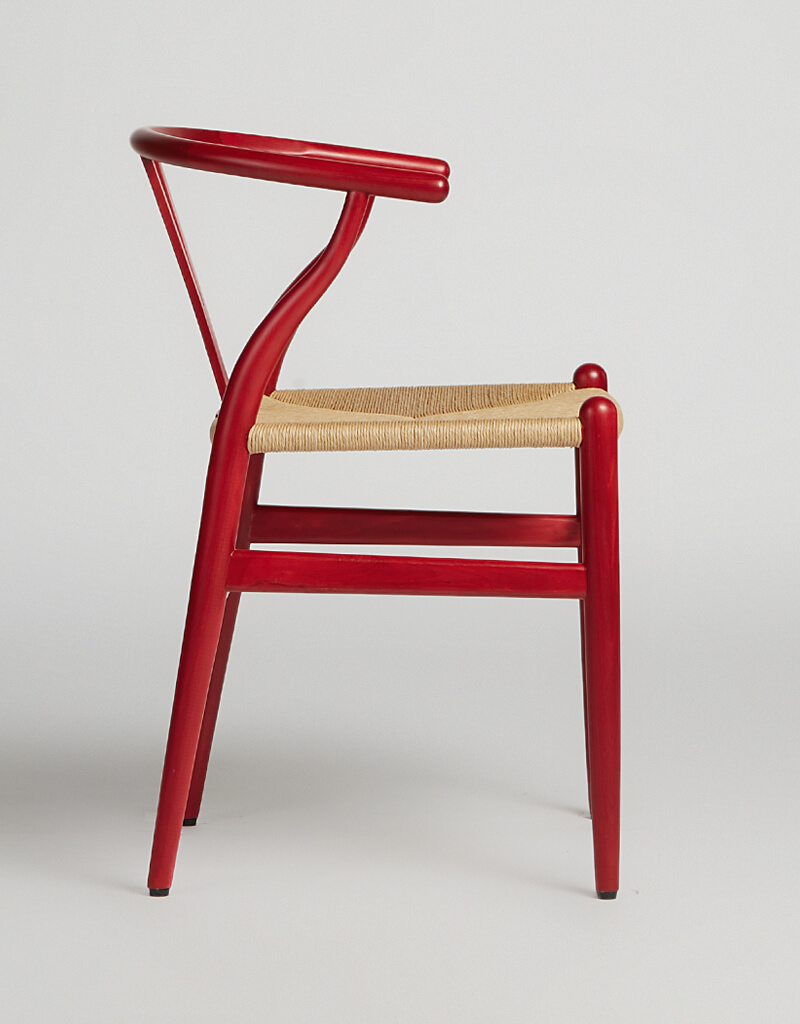 Wish Chair Red Papercord