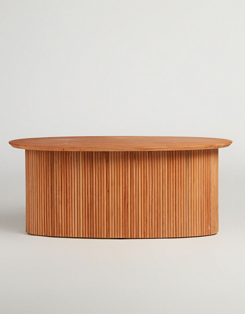 Oval Drum Centre Table