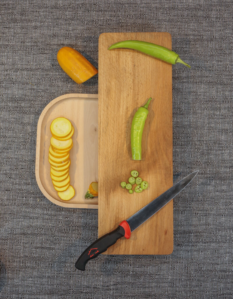Cutting Board With Base