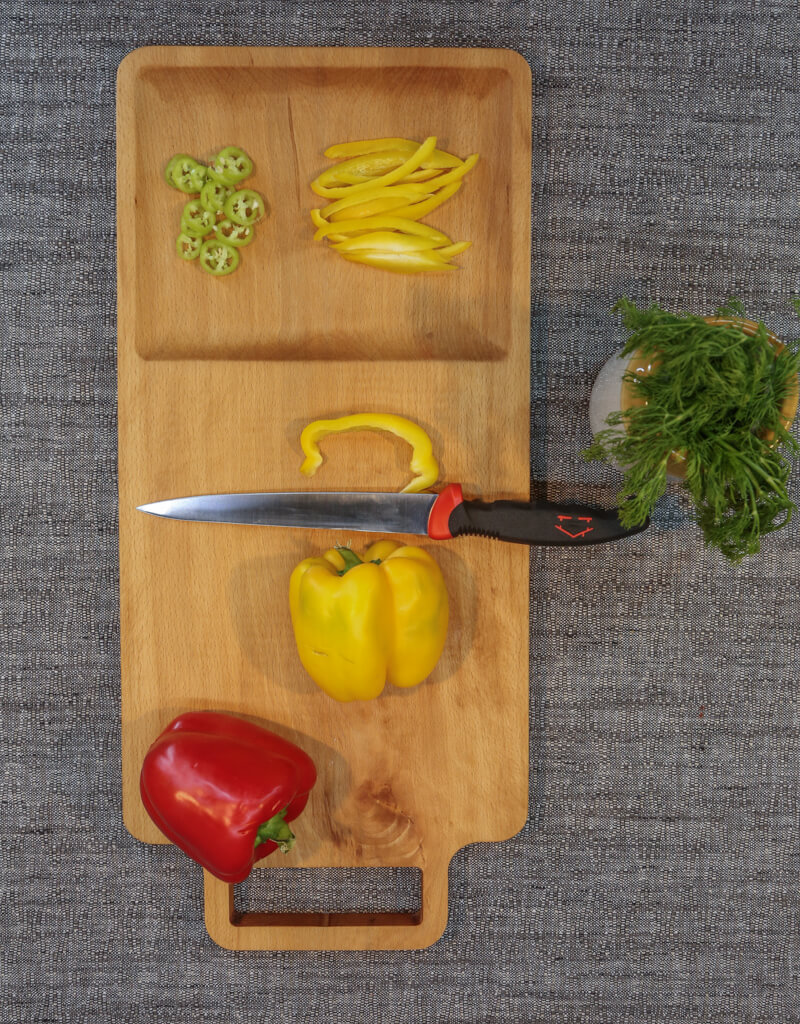 Cutting Board With Slot